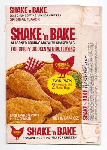 Shake 'n Bake package