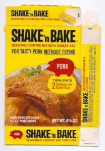 Shake 'n Bake pork chops