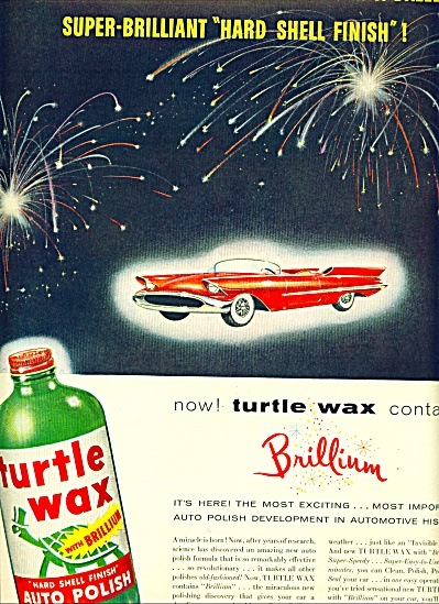 Turtle Wax ad