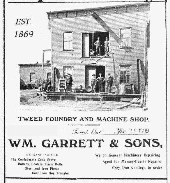 Wm. Garret & Sons Foundry
