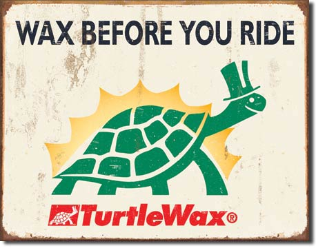 Wax before you ride