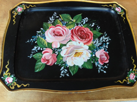 Barb's shower-gift tray