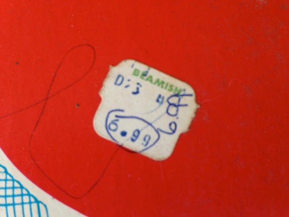 Beamish price tag