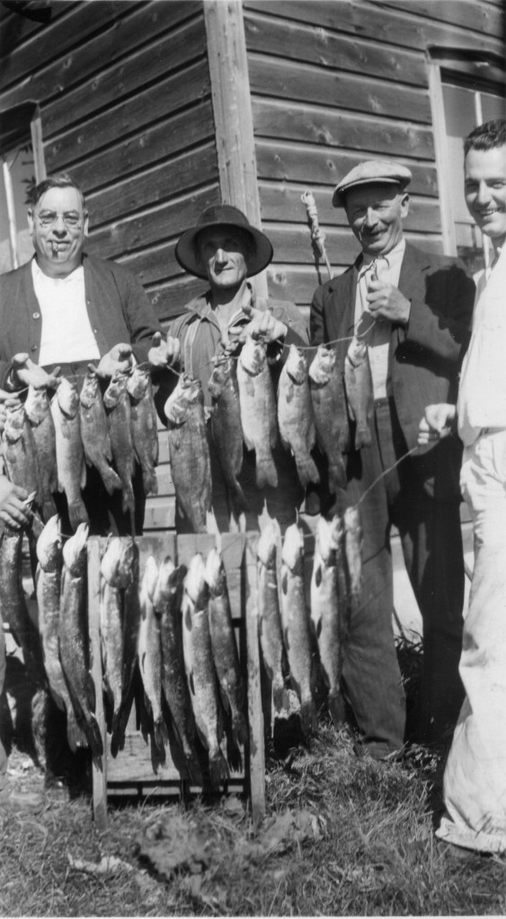 The Franklins' catch of fish