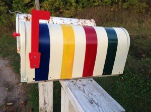 Hudson's Bay mailbox