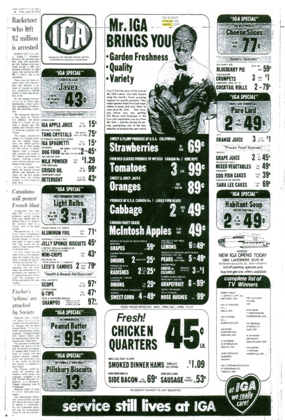 Kel Kincaid in the Toronto Star