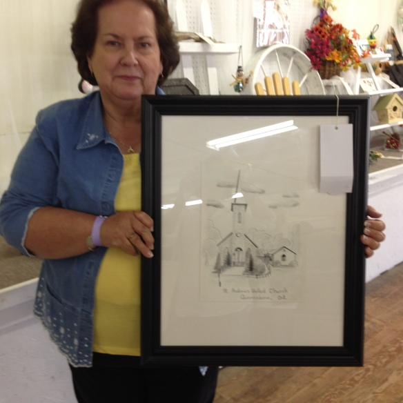 Madoc Fair 2014, Ann's prizewinning drawing