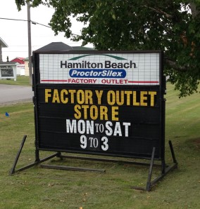 Proctor Silex Factory Store