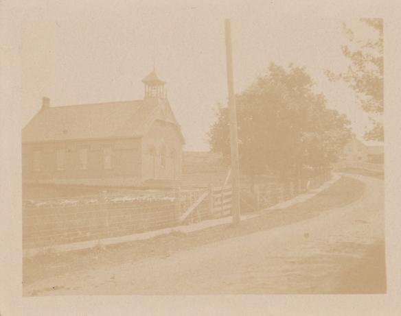 Queensborough school, vintage photo