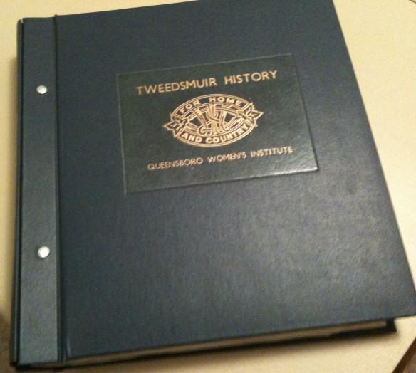 Tweedsmuir Book, Queensboro W.I.