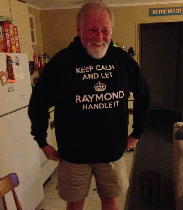 Keep Calm and Let Raymond Handle It