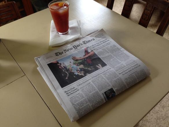 Sunday Times on Sunday
