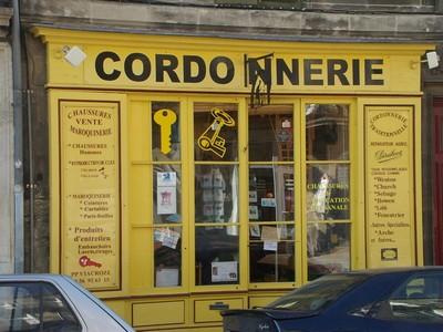 Cordonnerie 1