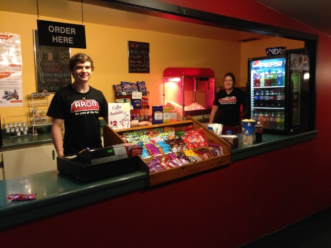 New Aron candy counter