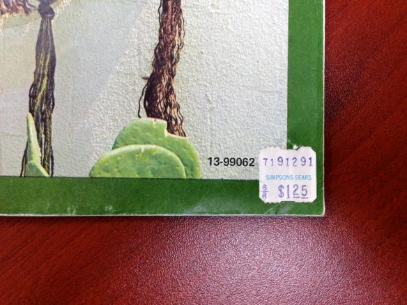 Simpsons-Sears price tag