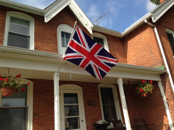 Union Jack at the Manse