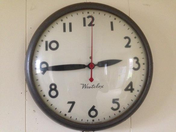 Westclox clock