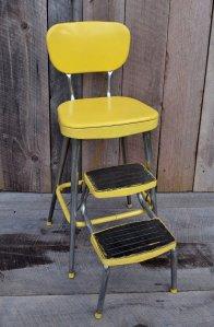 yellow step stool