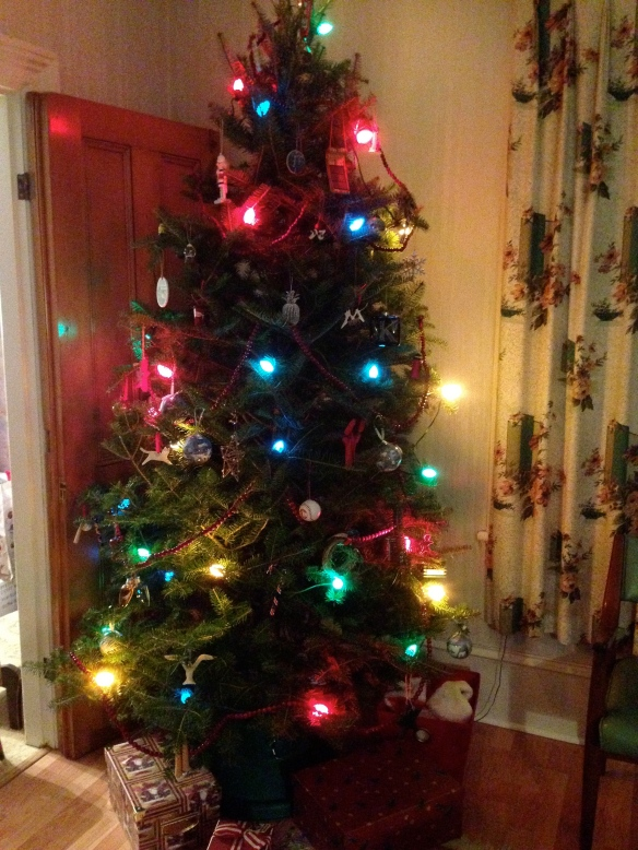 2014 Christmas tree at the Manse