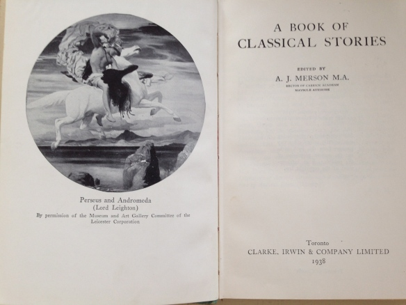 A Book of Classical Stories cover page