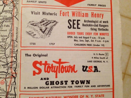 Eastern Motor Court Map Storytown