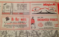 Eastern Ontario Motor Court map ads
