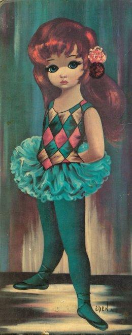 Eden green ballerina