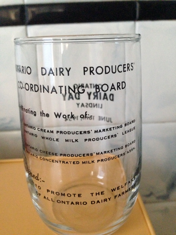Lindsay Dairy Day glass back