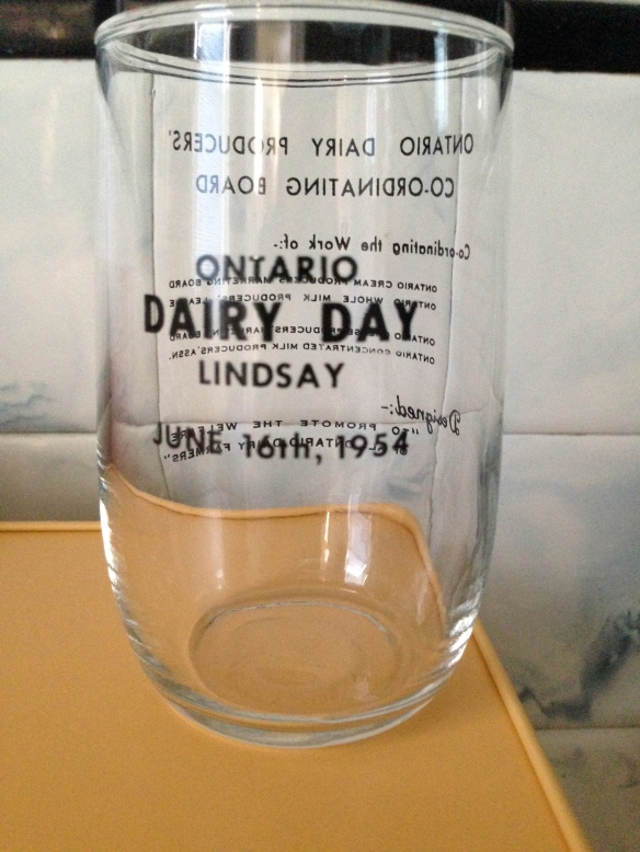 Lindsay Dairy Day glass front