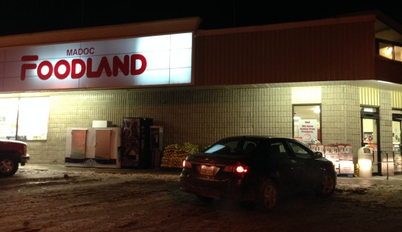 Madoc Foodland, open late at night