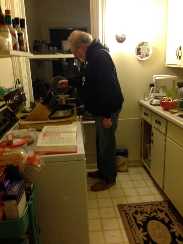 Raymond in the kitchen