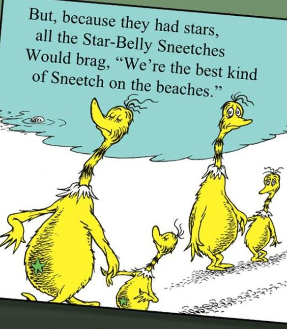 Best kind of Sneetch