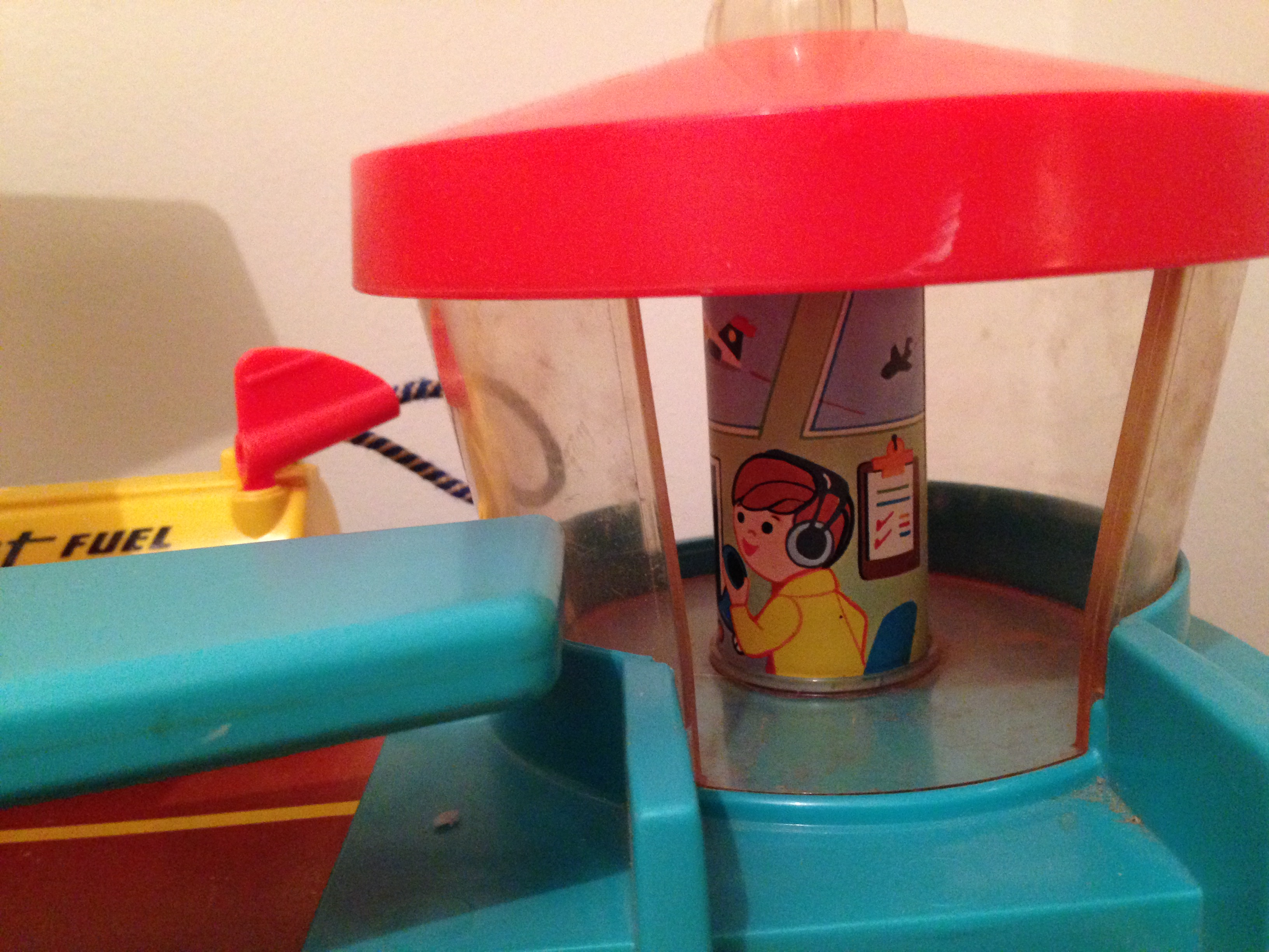 A vintage ticket to fly and dream: the Fisher-Price Airport | Meanwhile, at the Manse