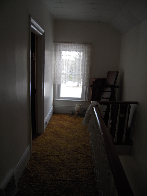Manse upstairs front hallway