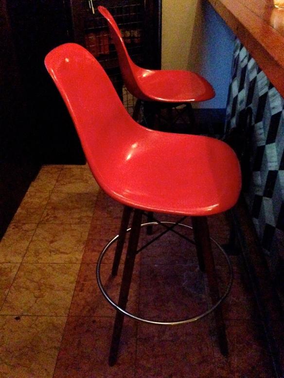Modernica stools at Terroni