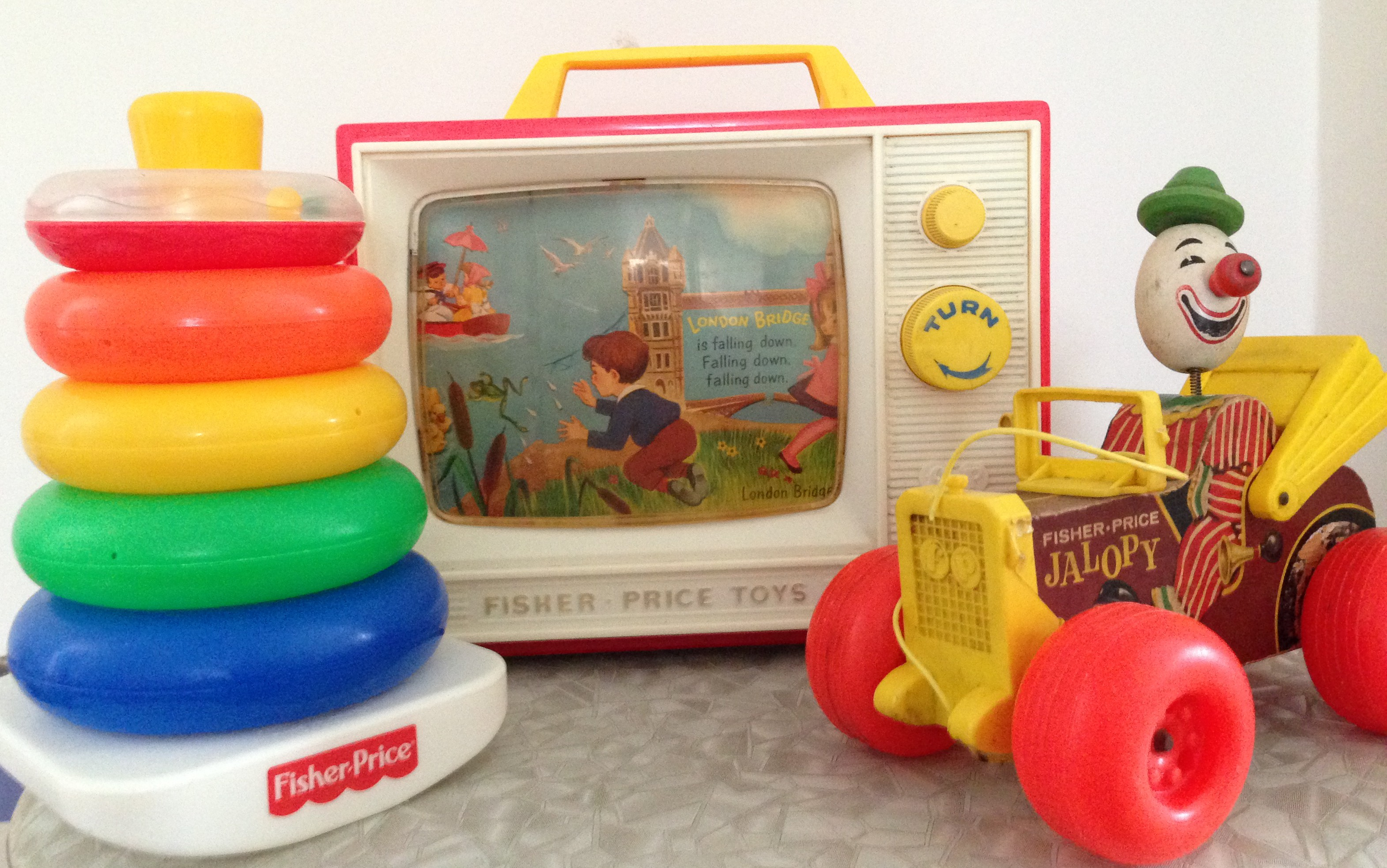 Classic Fisher Price Toys : A vintage ticket to fly and dream the fisher price