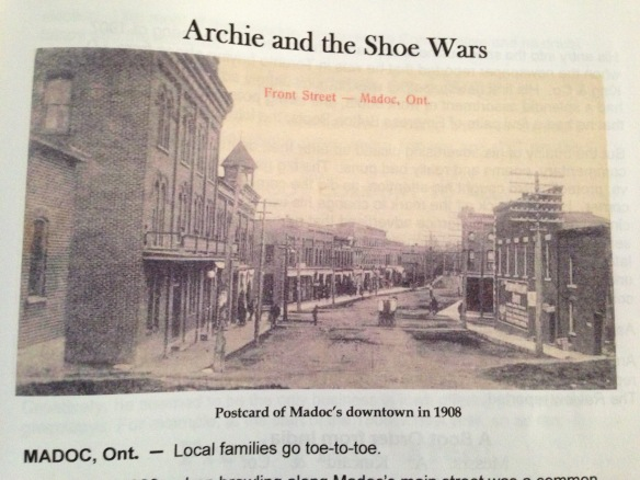 Archie and the Shoe Wars, The Kincaid Chronicles