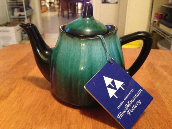 Blue Mountain teapot