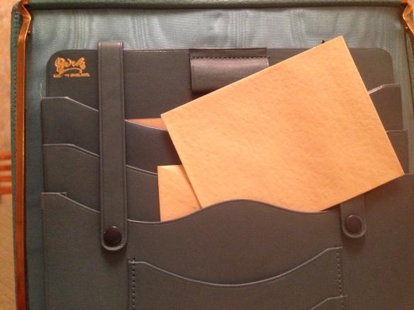 Envelope in Birks writing kit