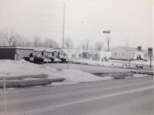 Madoc OPP station, 1975