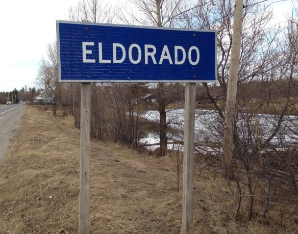 Eldorado sign