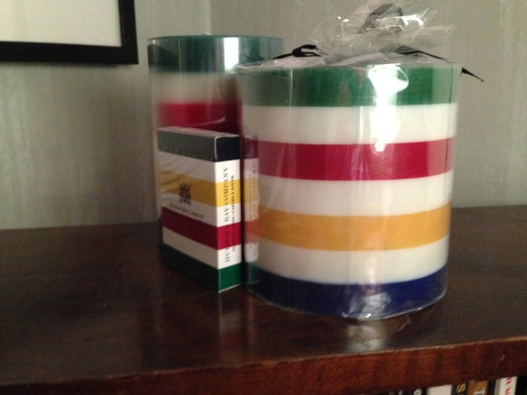 Hudson's Bay candles