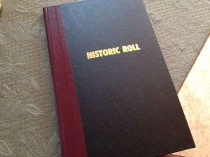 Historic Roll