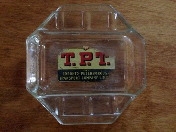 T.P.T. ashtray