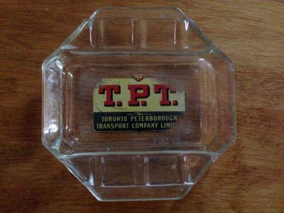 T.P.T. ashtray