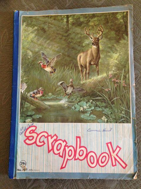 Bonnie Hart's scrapbook