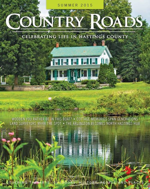 Country Roads cover featuring the Thompson House