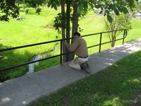 Jos repairing the north bridge