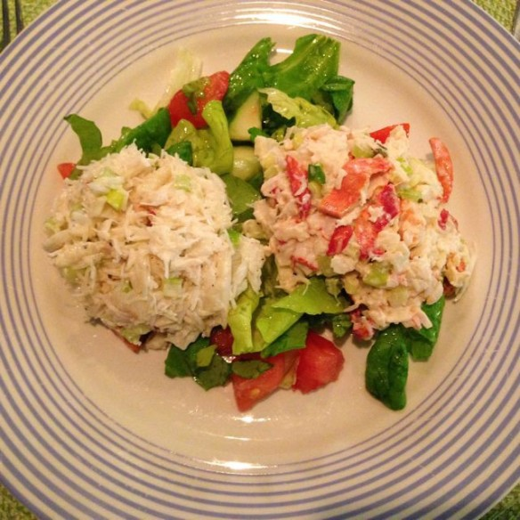 Ray's Famous lobster and crab salad