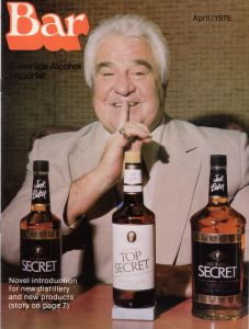 Jack Baker's Secret 1976 Bar magazine